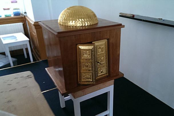 Nyt tabernakel i kirken