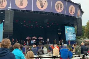 Musikskolens kor sang i Tivoli