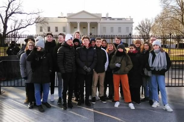 10. klasse er i USA: Friske billeder