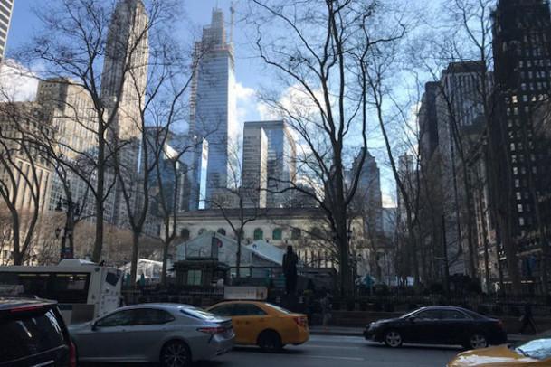 Tiden flyver afsted i New York!