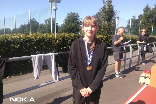 Celina får 4 medaljer