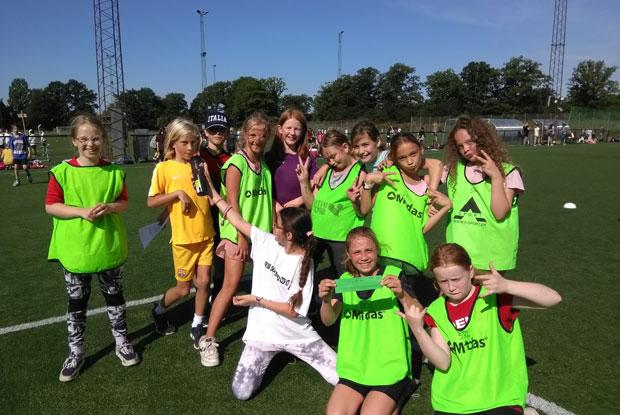 5i piger winners i Tårnbold